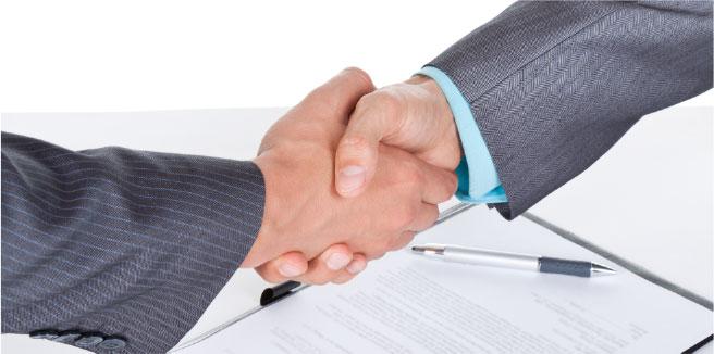 handshake-white-background